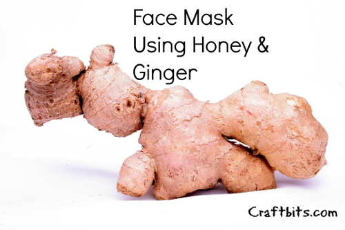 Face Mask – Honey & Ginger