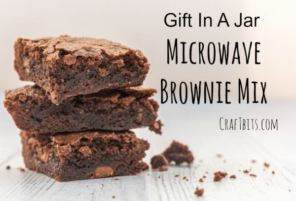Microwave Brownie Recipe