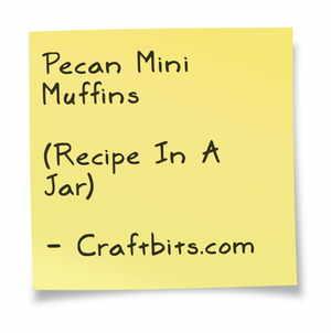 Pecan Mini Muffins