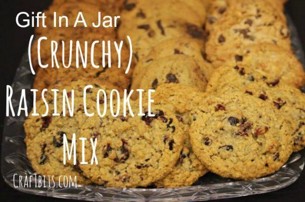 Crunchy Raisin Cookie Mix