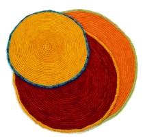 Round Crochet Rug
