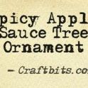 Tree Ornament: Spicy Apple Sauce