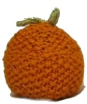 Knitted Baby Orange
