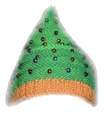 Christmas Tree Beanie