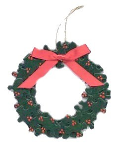 puzzle-wreath-for-christmas