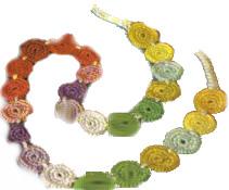 Funky Rounds Crochet Belt