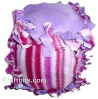 No Sew Baby Fleece Ball