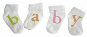 Baby Sock Sign