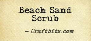 Beach Sand Scrub