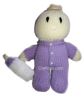 Hungry Baby Doll – Knitted Pattern