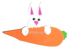 Easter Craft: Hungry Bunny Embellishment