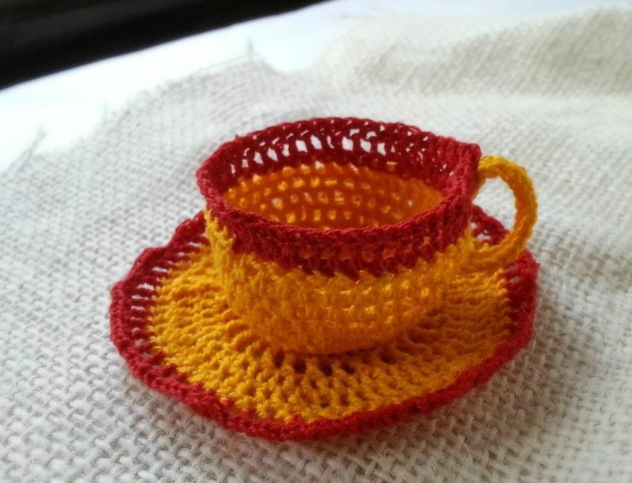 Crochet A Tea Cup