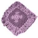 Ruffle Crochet Pillow