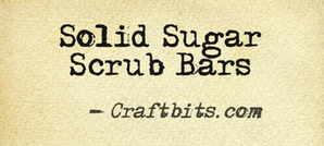 Solid Sugar Scrub Bars