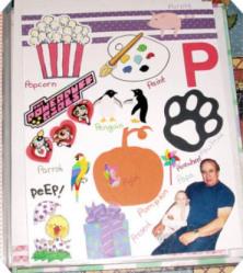 ABC Scrapbook Album – Not the Ordinary ABCs!