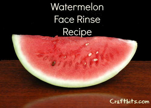 Watermelon Face Rinse