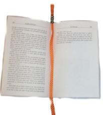 Bead & Ribbon Bookmark