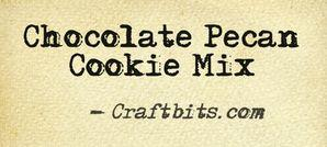 Chocolate Pecan Cookie Mix