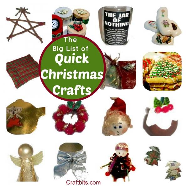Quick Christmas Crafts