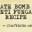 bath bomb anti fungal recipe