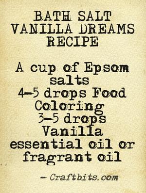 Bath Salt – Vanilla Dreams