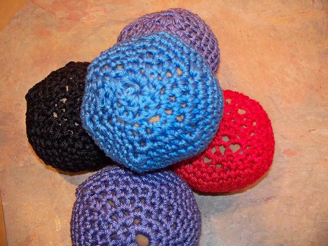 Crochet A Easy Hacky Sack Foot Bag