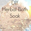 Herbal Bath Soak - Exfoliating