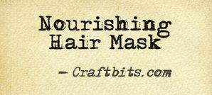 Nourishing Hair Mask