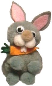 Pom Pom – Bunny with Carrot