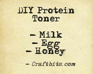 DIY Natural Protein Toner