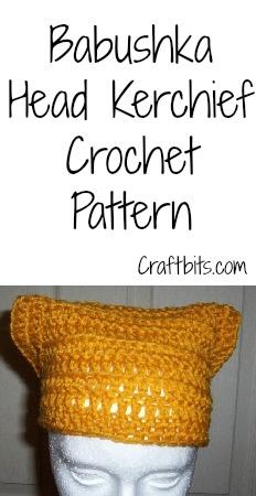 Crochet A Babushka Head Kerchief