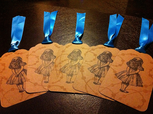 Scrapbooking Tags and Ribbons