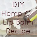 Lip Balm - Hemp Oil