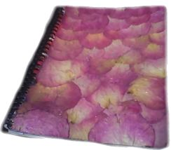 Rose Petal Notebook