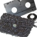 VHS Tape Clutch Purse: Crochet Pattern