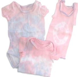tie dyed baby clothes