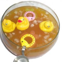 Baby Shower Punch Bowl Idea