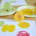 Apple Prints -  Kids Art