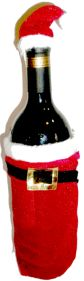 Santa Bottle Cover