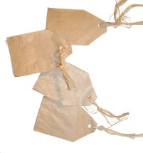 Brown Paper Bag Tags