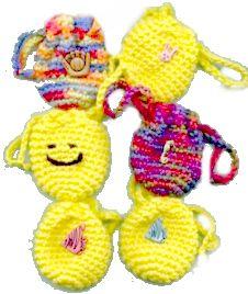 Crochet Quarters Coin Purse