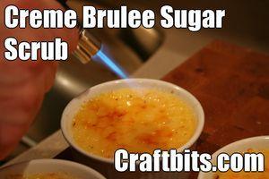 Crème Brûlée Sugar Scrub