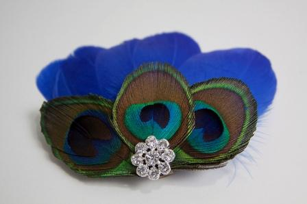 Native Feather Hair Clip
