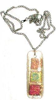 Resin – Glitter Jewels Pendant