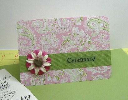 DIY Celebrate Card