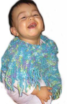 Baby Twizzler Poncho