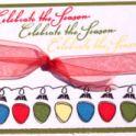 Christmas Card Idea: Christmas Lights