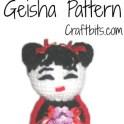 Amigurumi Crochet: Geisha Doll
