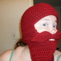 Mustache Costume Hat: Crochet Pattern