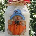 pumpkin jar ornament